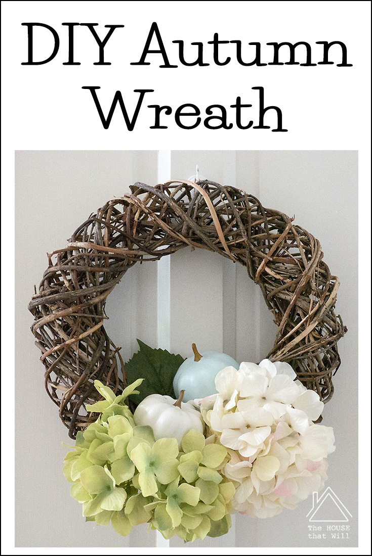 18 autumn wreath pin