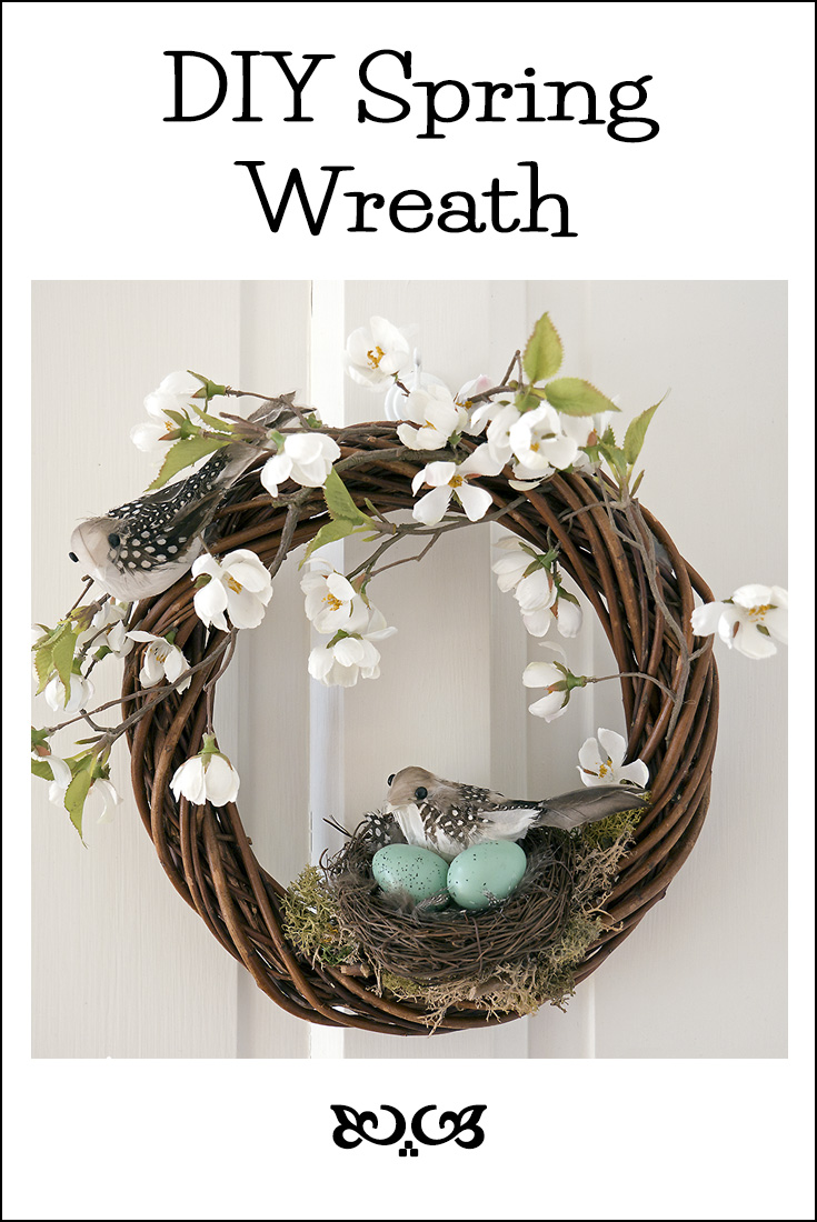 The House that Will | DIY Spring Wreath