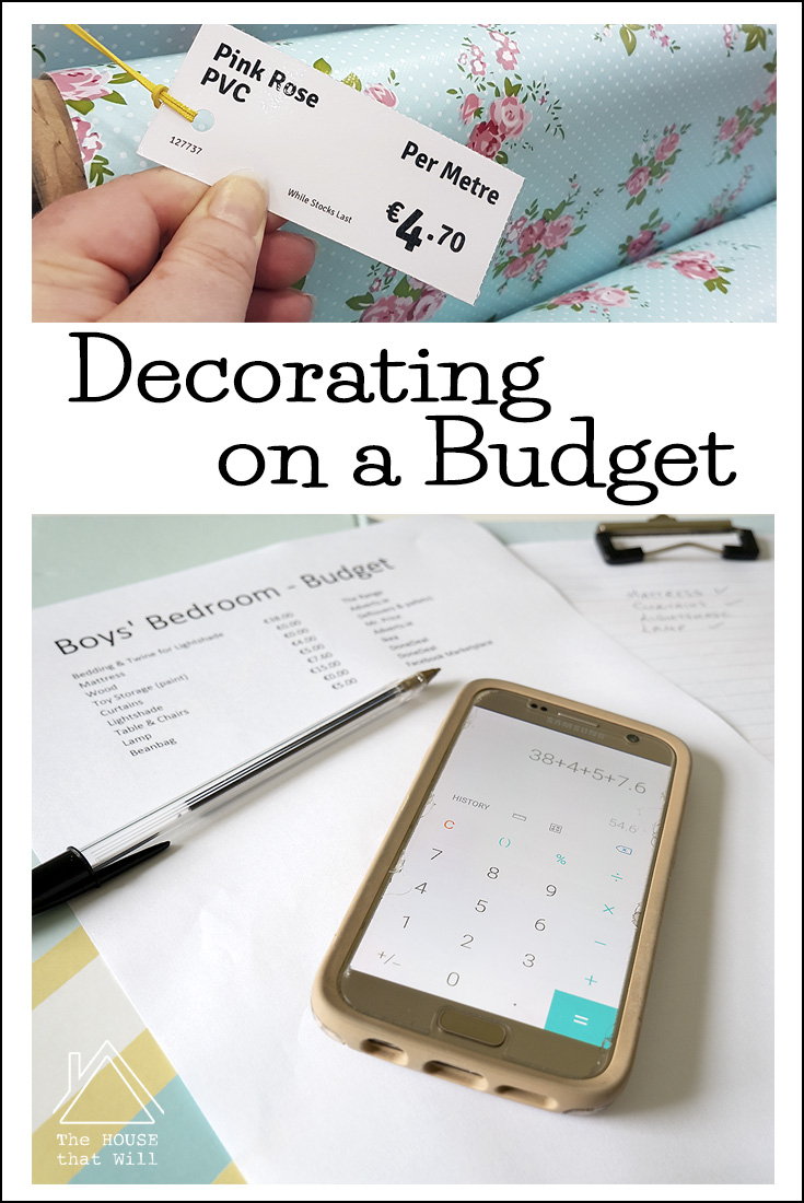 The House that Will | Top Tips for Decorating on a Budget