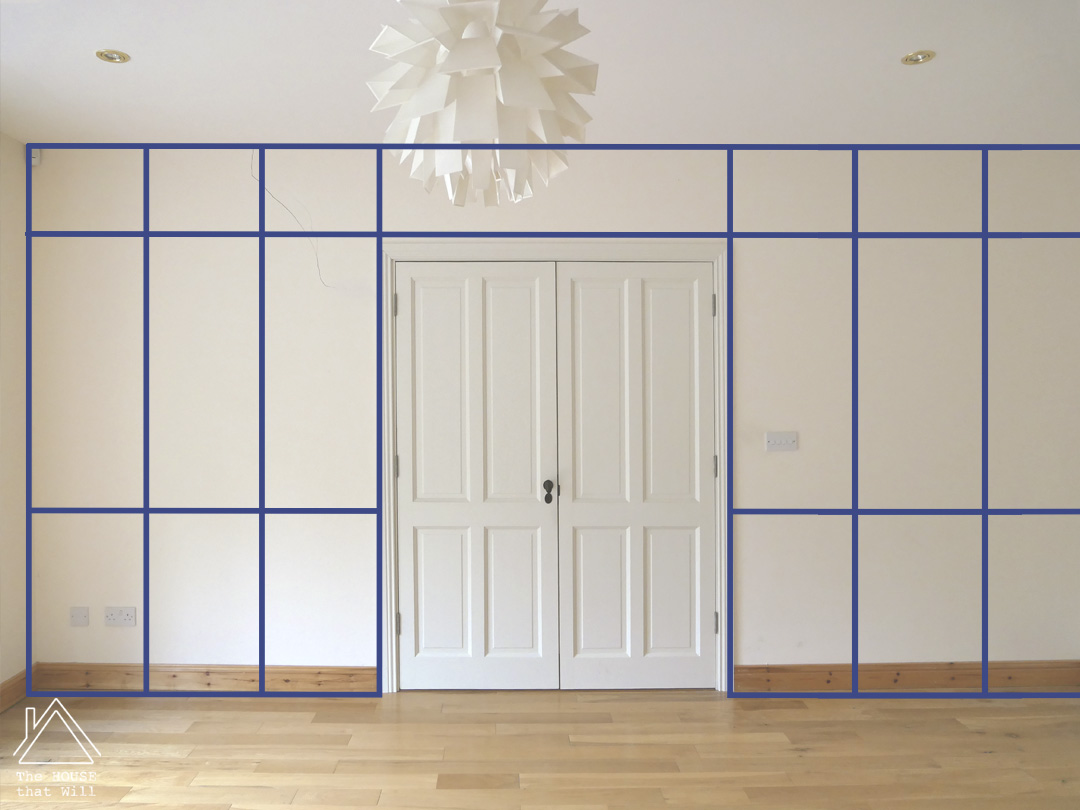 The House that Will | DIY Wall Panelling - an aesthetic and practical guide