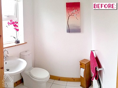 Loo Makeover: Before