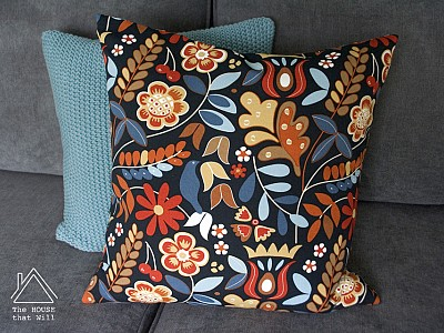 Cushion Cover: Hidden Zipper