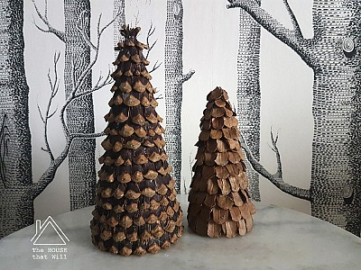 Crafty Cone Tree Ornaments