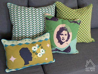 Scatter Cushions for the Studio