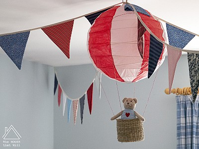 DIY Hot Air Balloon Lightshade