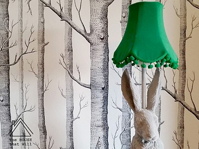 DIY Fabric Lampshade